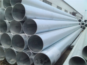 Hot DIP Galvanized Round Steel Pipe (Tube) for Building Structure pictures & photos