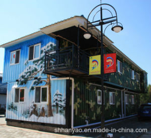 Professional Low Price Prefabricated Container House pictures & photos