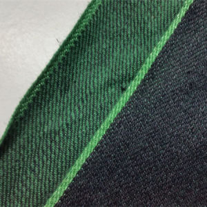 18.5oz Green Colour Cotton Material Selvedge Denim Fabric for Jeans 8983