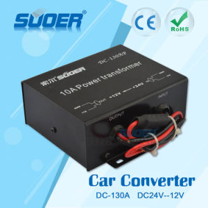 Suoer Car Power Supply Transformer 10A DC 24V to DC 12V Converter with CE RoHS (DC-130A) pictures & photos