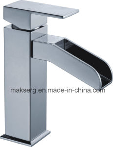 Stainless Steel Single Lever Basin Mixer pictures & photos