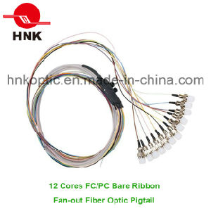 12 Cores Bare Ribbon Fan-out Pigtail pictures & photos