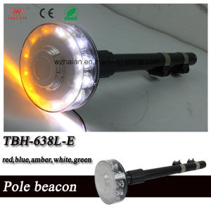 LED Revolving Pole Beacon for Motorcycle Rear Warning pictures & photos