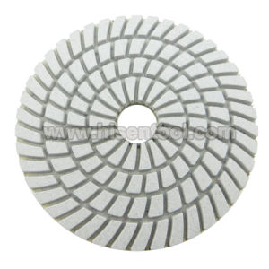 Professional Quality 3 Steps Wet Flexible Polishing Pads pictures & photos