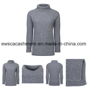 Women Turtle Neck Pure Cashmere Knitwear pictures & photos