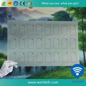 Thin PVC Layout 3 X 7 F08 RFID Inlay Sheets pictures & photos