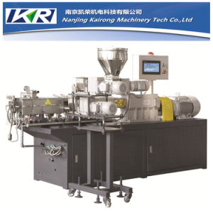 Nanjing Kairong Tse-20 Plastic Recycling Granulator/ Extruder Machine for Lab Use pictures & photos