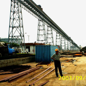 Cema/DIN/ASTM/Sha Trussed Belt Conveyor Application in Metallurgy/ Mining/ Harbor/Power Station pictures & photos
