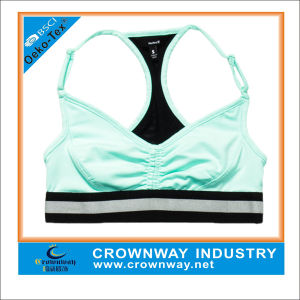 Best Raceback Fitness Sports Bra with Low Back pictures & photos