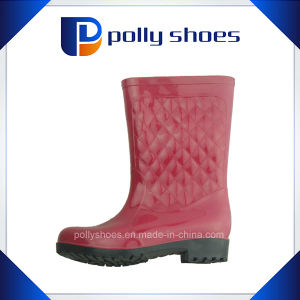Women Rain Shoes Rain Boot China Supplier pictures & photos