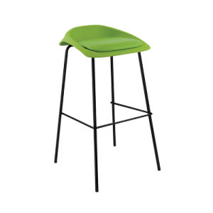 Various Colors PP+PU Swivel Hotel Home Restaurant Bar Stool (FS-PB004) pictures & photos