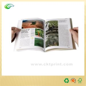 Fashion Magazine Printing with Colorful Pictures (CKT-BK-815)