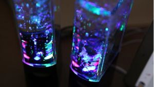 Colorful Lights Subwoofer Bluetooth Dance Music Fountain Sound Speaker pictures & photos