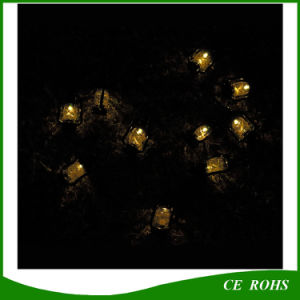 Warm White 10 LED Barn Lantern Solar String Light for Garden Decorate pictures & photos