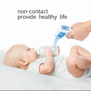 Professional Infrared Baby Adult Non-Contact Forehead Body Clinical Digital Thermometer pictures & photos