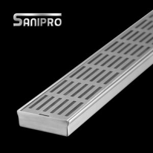 Swimming Pool Linear Stainless Steel Floor Drain Cover pictures & photos