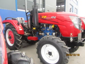 CE/Coc/EPA Hx404 40HP Agriculture Tractor with Front Loader/Mower/Plough Attached pictures & photos