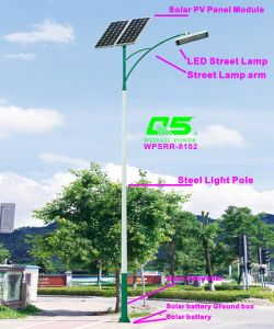 WPSRR-8102 3~15m Municipal Road Hot DIP Galvanized Steet Light Pole style pictures & photos
