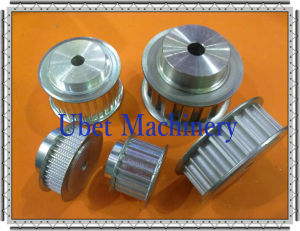 Aluminum Synchronous Toothed Belt Pulley with Flanges pictures & photos