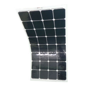 100W Semi Flexible Solar Panel/Solar Module with Sunpower Solar Cells pictures & photos