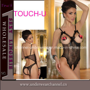 Sexy Lady Women Cup out Teddy Underwear (TML8022) pictures & photos
