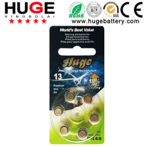 1.4V Hearing Aid Zinc Air Battery (A13) pictures & photos