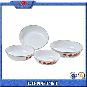 Enrich Your Good Life Enamel Dishes and Plates Set pictures & photos