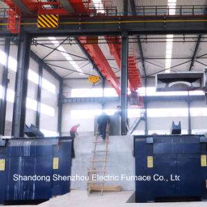 Melting Industrial Furnace Double Tracks Induction Furnace