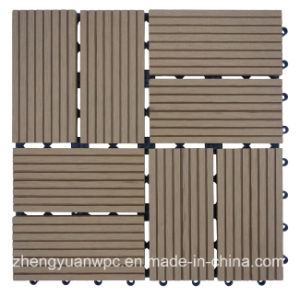 WPC Outdoor DIY Tile (ZY-T-005)