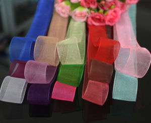 Wholesale Chinlon Rolled Ribbon pictures & photos