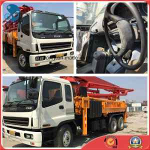 42m Rhd-8*4-Drive Euro3/Diesel-Engine Repaint 2007 Used Concrete-Delivery Isuzu-Chassis Sany-Pump Truck pictures & photos