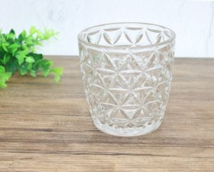 Hot Sale Glass Candle Cup/Candlestick for Home Decoration pictures & photos