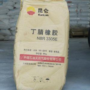 Kunlun nitrile rubber / nitrile butadiene rubber /acrylonitrile-butadiene rubber NBR 3305E pictures & photos