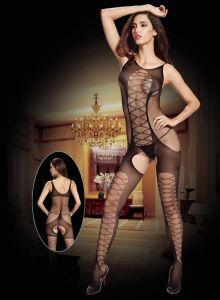 Sexy Lingerie Bodystocking with Crotchless Design 8940 pictures & photos