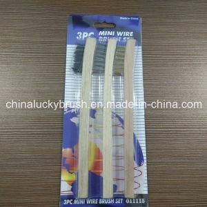 "3PCS 7""Mini Wire Brush Set (YY-500) pictures & photos"