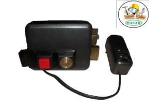 Safe and Reliable Euro Electronic Rim Door Lock pictures & photos