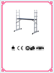 Aluminum Combination Ladders with Platform pictures & photos