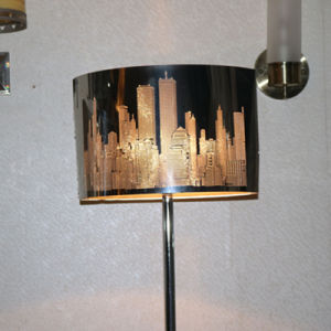 Modern Hotel Decorative Stainless Steel Standing Floor Lamp pictures & photos