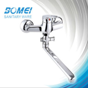 Classic Common Single Handle Sink Wall Mixer pictures & photos