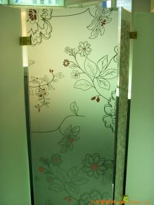 Wholesale Tempered Printed Sheet Door Glass/ Window Glass with Certificate