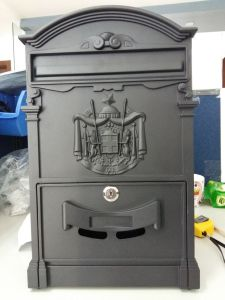 Classic Design Cast Aluminum Mail Box pictures & photos