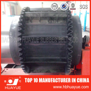 Apron Sidewall Cleated Rubber Belt for Industrial pictures & photos