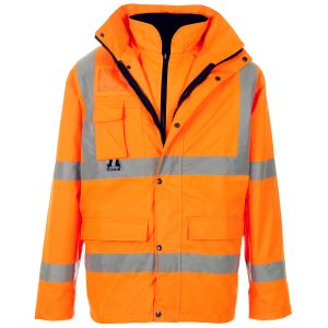 High Visibility Safety Jacket with En20471 (C2465) pictures & photos