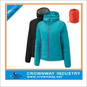 Winter Warm Outdoor Down Packaway Jacket for Women pictures & photos