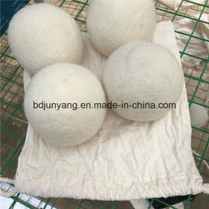 Natural Fabric Softer Wool Dryer Ball Laundry Ball pictures & photos