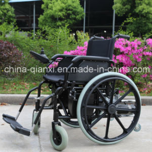 Lightweight Cheap Price Foldable Electric Wheelchair for Disabled pictures & photos