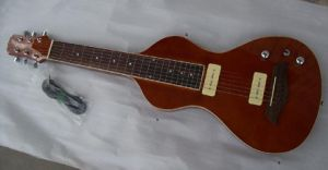 Aiersi Solid Body Lap Steel Electric Slide Guitar pictures & photos
