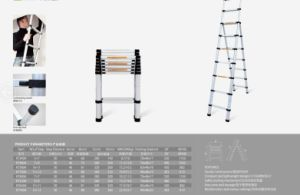 a Type Telescopic Ladder pictures & photos