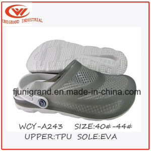 2016 Summer Breathe Freely EVA Male Clogs pictures & photos
