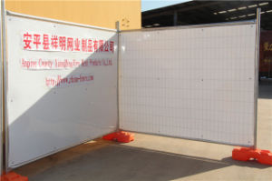 Au Type Popular Galvanized Temp Fence Temporary Construction Fencing with China Factory pictures & photos